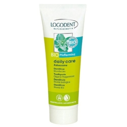 Logona: Daily Care Zahncreme Bio-Pfefferminz (75 ml) - 1