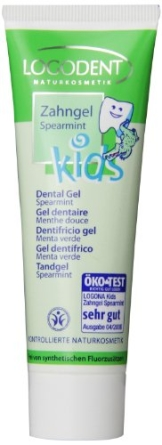 Logona: LOGODENT Kids-Zahngel Spearmint (75 ml) - 1